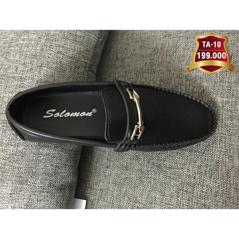 Giày lười nam da tổng hợp cao cấp TA 06 giá TẠI XƯỞNG