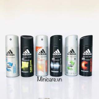Xịt khử mùi body Adidas 150ml (for men) thumbnail