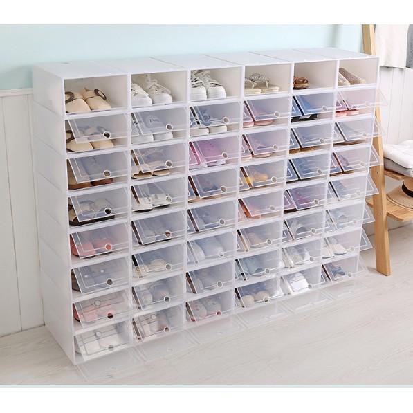 [GIÁ SỈ] Hộp Đựng Giày Nắp Nhựa Cứng Trong Suốt_ HÀNG CÓ SẴN SỐ LƯỢNG