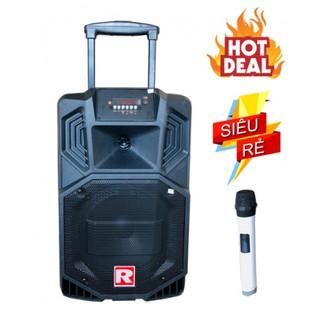 Loa kéo karaoke di động giá rẻ Ronamax V8 âm thanh cực hay + Tặng kèm 1 micro