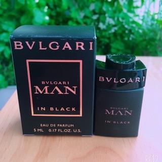 Nước hoa BVL man in black 5ml thumbnail