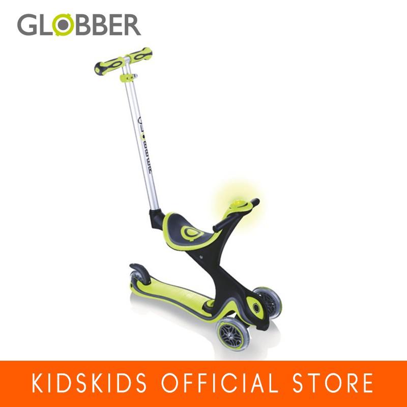 [NHẬP MKBKIDS25K GIẢM 25K]Xe trượt scooter Globber Evo Comfort Play - Xanh Lá