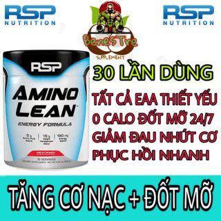 AMINO LEAN RSP Tăng Cơ Phục Hồi Năng Lượng 30 Servings