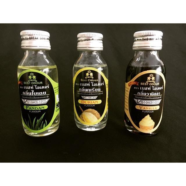 Tinh chất thái lan lá dứa - sầu riêng - vani 30ml
