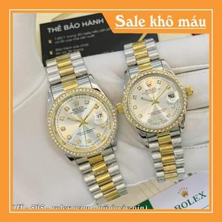 [Full box - Nam nữ - Được xem hàng] Đồng hồ Rolex Nam nữ - Bảo hành 12th - Full box trangmoonshop thumbnail