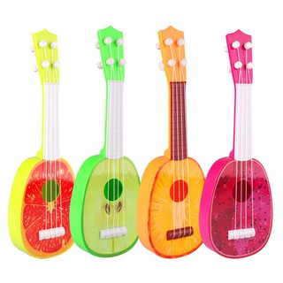 Cute Fruit Musical Guitar ukulele Instrument Toy Children Kids Educational