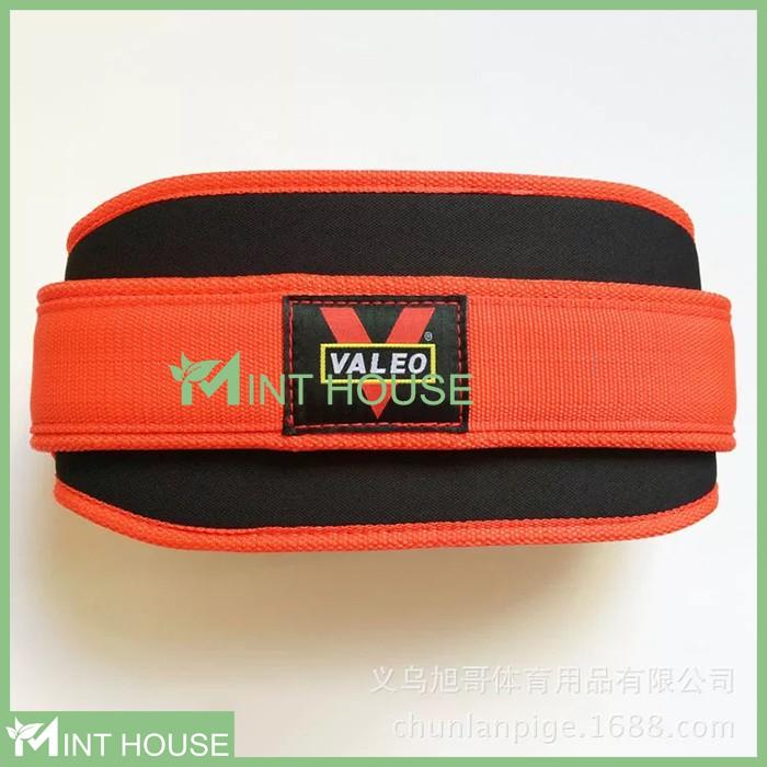Đai Lưng Mềm Tập Gym Bản To Valeo Squat Belt, hỗ trợ Squat