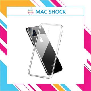 Ốp Lưng Silicon trong suốt IPhone 7/7 plus/8 plus/X/XS Max/11/11 Pro Max/12/12 Pro Max- Mac shock