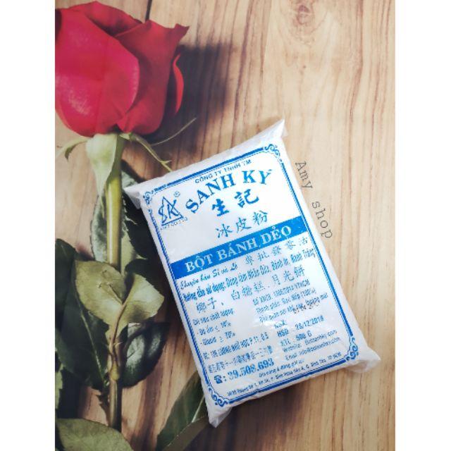 Bột bánh dẻo Sanh ký xanh 500g - 2736566 , 1187684536 , 322_1187684536 , 22000 , Bot-banh-deo-Sanh-ky-xanh-500g-322_1187684536 , shopee.vn , Bột bánh dẻo Sanh ký xanh 500g