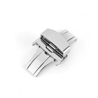 Khóa bướm đồng hồ có nút bấm cho dây đồng hồ da size 16mm 18mm 20mm 22mm thumbnail