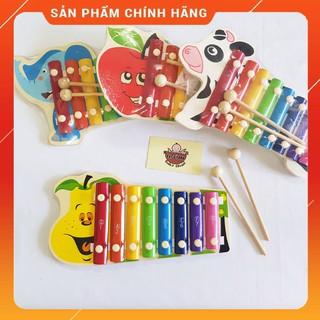Đàn Xylophone 8 Thanh Vivitoys - Đồ Chơi Gỗ An Toàn Cho Bé