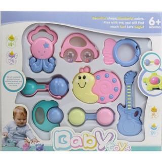 Set đồ chơi cho trẻ sơ sinh 8 món