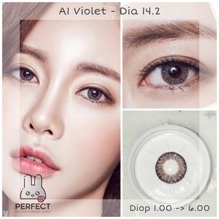 (Giá 1 Chiếc) 14.2 (1.00 - 6.00) Lens A1 violet - Kính Áp Tròng thumbnail