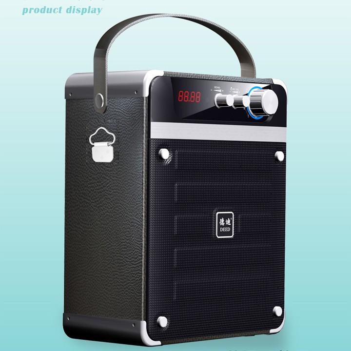 Loa bluetooth xách tay hát karaoke cao cấp DEED D-B91 40W (Đen) + Tặng kèm micro không dây - 2563720 , 696546713 , 322_696546713 , 1045000 , Loa-bluetooth-xach-tay-hat-karaoke-cao-cap-DEED-D-B91-40W-Den-Tang-kem-micro-khong-day-322_696546713 , shopee.vn , Loa bluetooth xách tay hát karaoke cao cấp DEED D-B91 40W (Đen) + Tặng kèm micro không