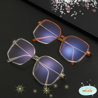 MIHAN1 Fashion Anti-Blue Light Eyewear Polygon Retro Spectacles Frames Anti-Radiation Computer Irregular Eyeglasses Vintage Optical Glasses/Multicolor