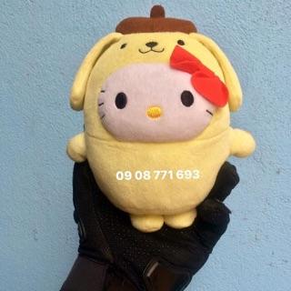 Thú bông Kitty cosplay cún 17cm có logo McDonald's dưới chân