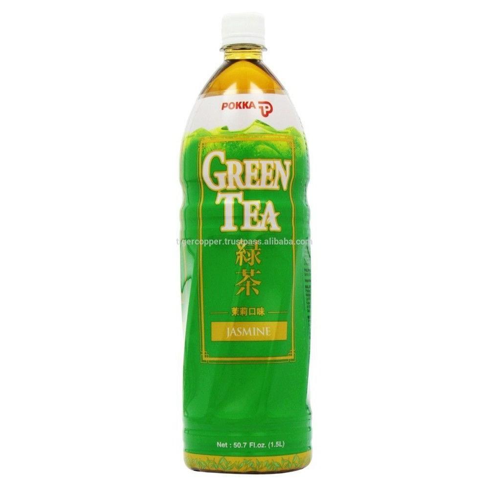 Nước giải khát trà xanh hương lài Pokka chai 500ml