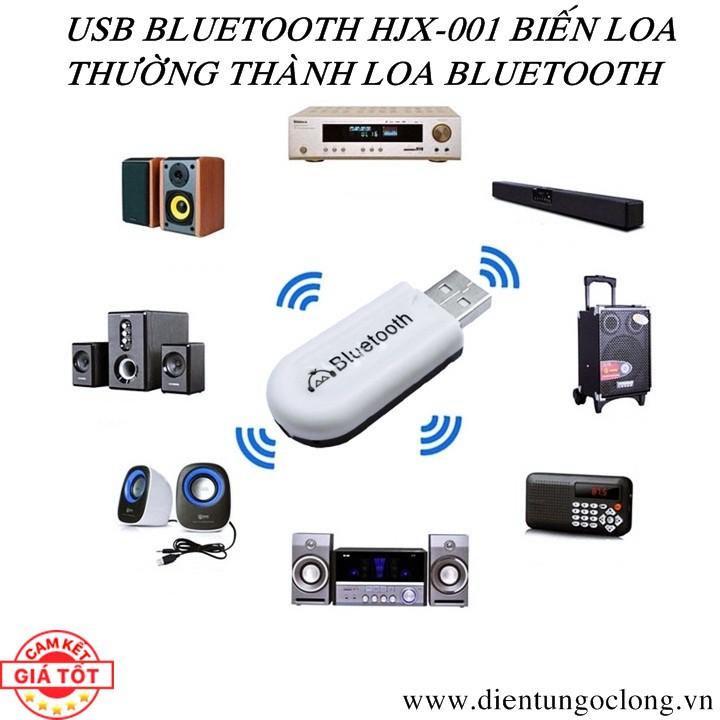 Usb Bluetooth Dongle HJX-001 Biến Loa Thành Loa Bluetooth