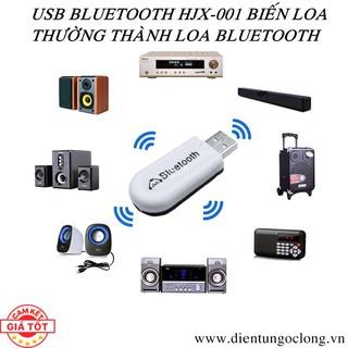 Usb Bluetooth Dongle HJX-001 Upgrade Version Biến Loa Thành Loa Bluetooth