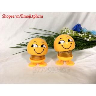 [ẢNH THẬT+VIDEO] Emoji lò xo mặt cười có chân dán EM03
