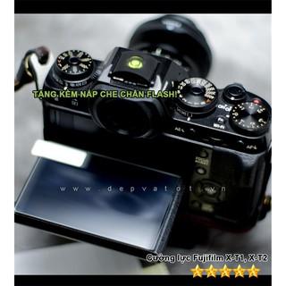 Cường lực Fujifilm X-T1, X-T2 , X-T3 , X-H1 tặng Hot shoe