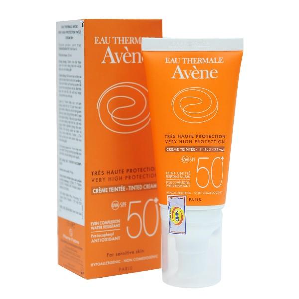 Kem chống nắng và trang điểm bảo vệ tối đa - Very High Protection Tinted Cream SPF 50+ - Avène