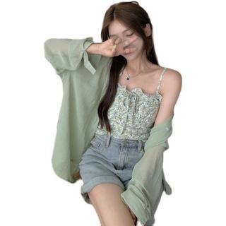 Popular Short-sleeved T-shirts + shorts suits Hot sale A-line high-waist skirt Spot Short top
