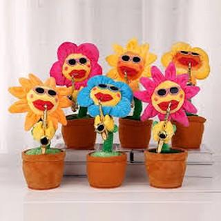 [Sỉ] Combo 10 hoa uốn éo, hoa biết thổi kèn, hoa hướng dương biết hát