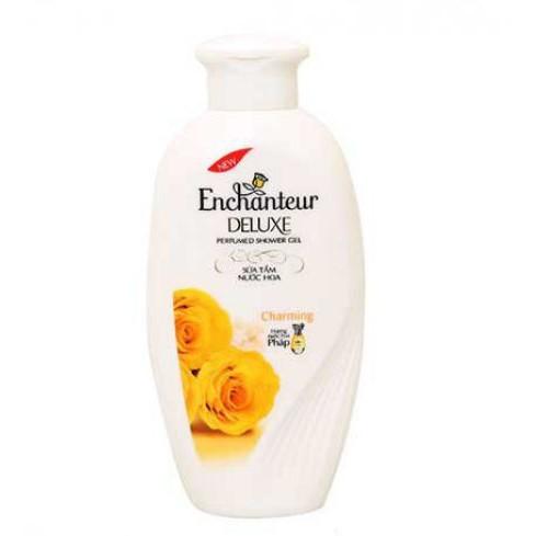 Sữa tắm hương nước hoa Enchanteur Deluxe Charming 180g - 2787864 , 806113625 , 322_806113625 , 51000 , Sua-tam-huong-nuoc-hoa-Enchanteur-Deluxe-Charming-180g-322_806113625 , shopee.vn , Sữa tắm hương nước hoa Enchanteur Deluxe Charming 180g