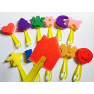 Set 12 khuôn dụng cụ chơi với màu