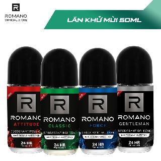 Lăn khử mùi Romano 50ml