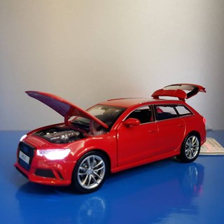 Xe mô hình Audi RS6 Double Horses 1:32