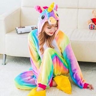 (Có sẵn) bộ đồ kì lân 7 màu cầu vồng, bộ đồ thú kì lân unicorn