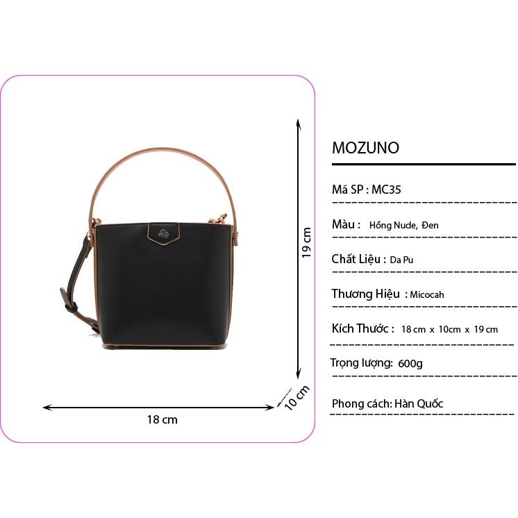 Túi Xách Đeo Chéo Đeo Vai Thời Trang Chính Hãng MICOCAH Phong Cách Hàn Quốc Siêu Đẹp Siêu Hót 2021 MC35-Mozuno