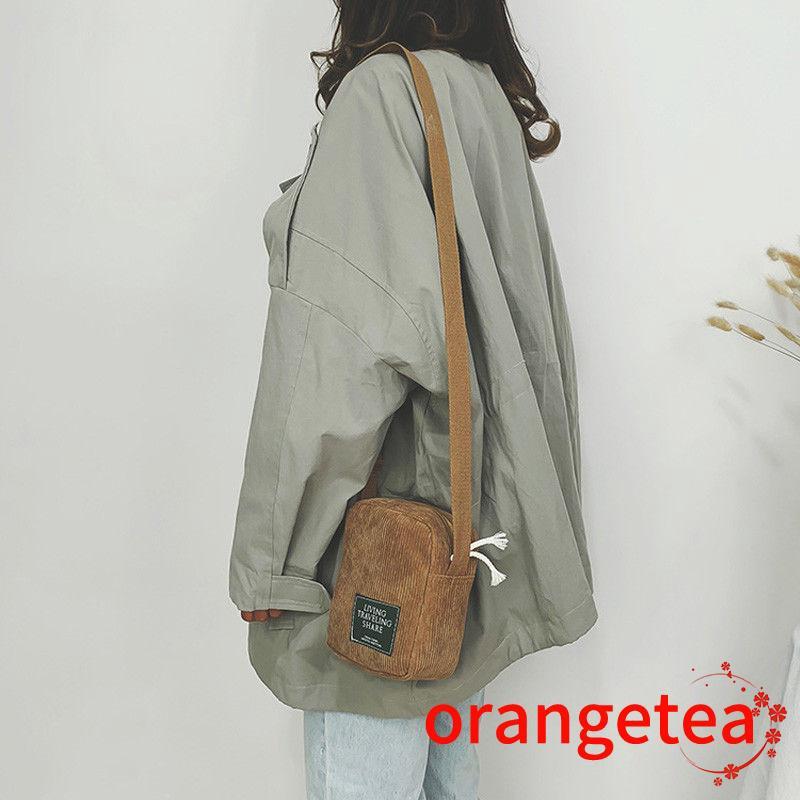 Túi đeo chéo nhỏ xinh phong cách Nhật Bản cho nữ