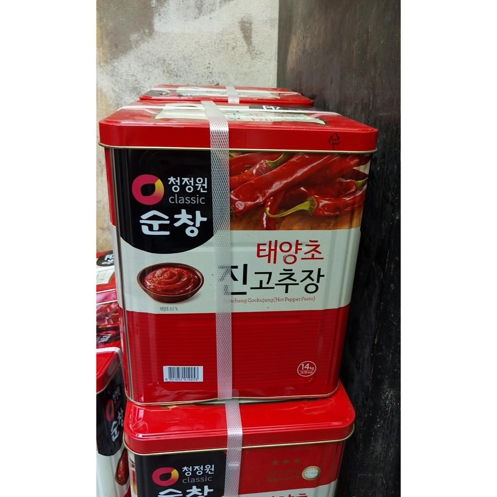 Tương ớt Hàn Quốc 14kg Gochujang Daesang 3* - 3555980 , 991081953 , 322_991081953 , 630000 , Tuong-ot-Han-Quoc-14kg-Gochujang-Daesang-3-322_991081953 , shopee.vn , Tương ớt Hàn Quốc 14kg Gochujang Daesang 3*