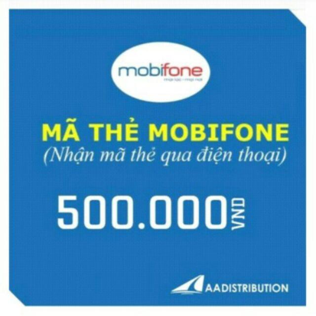 Mã thẻ mobi 500k