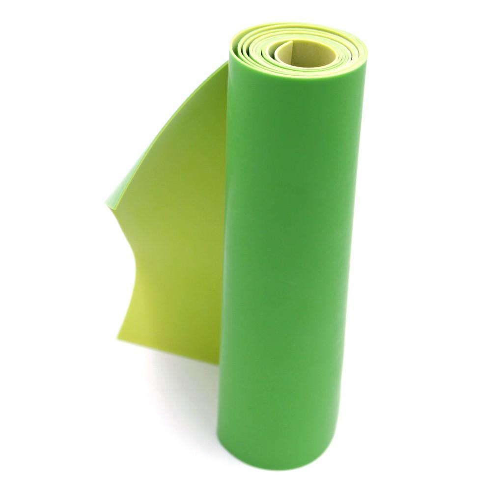 (Dankung - 0.8mm) Cuộn 1m thun Dankung 2 lớp dày 0.8mm (Màu xanh lá)