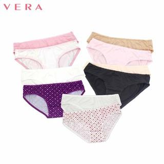 Hình ảnh Combo 10 quần lót nữ thun lạnh Vera 6323-0