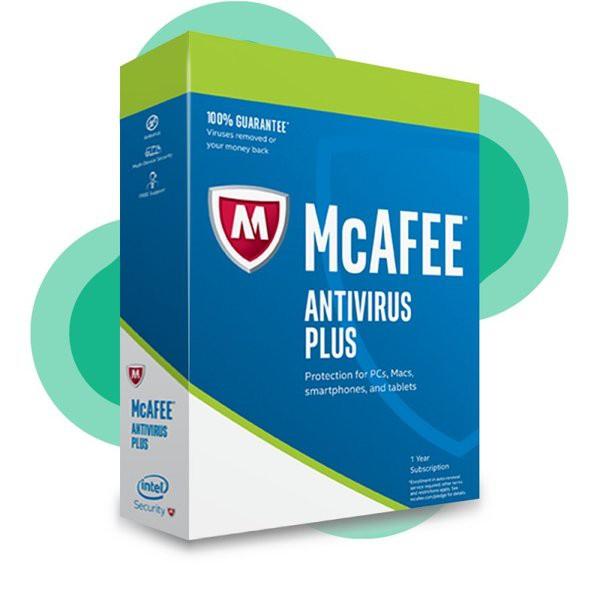 Phần mềm diệt virus MCAFEE ANTIVIRUS Plus 12 Tháng Giá chỉ 180.000₫