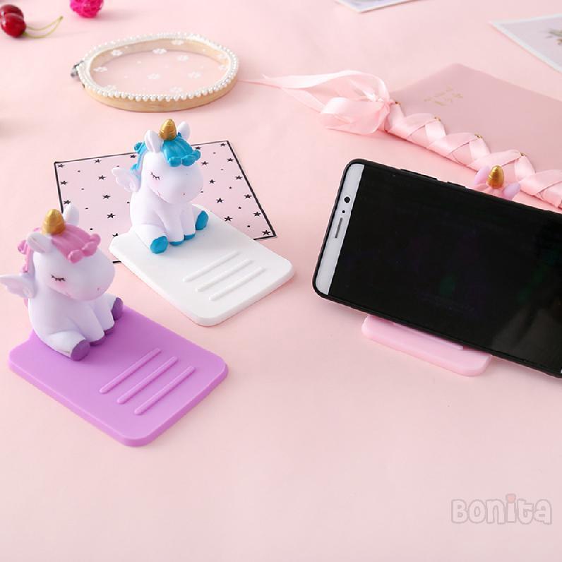 Lazy Unicorn Pvc Cellphone ซิลิโคนที่วางมือถือตั้งโต๊ะ Holder 894