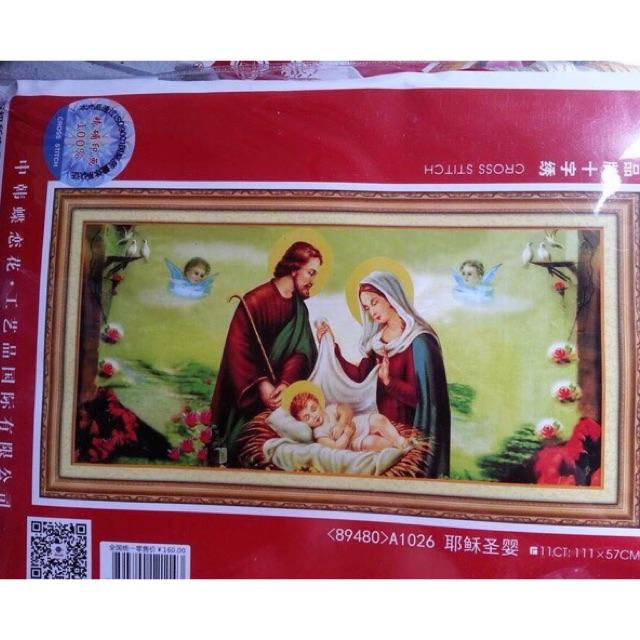 Tranh thêu gia đình thánh gia a1126 - 2725843 , 909134667 , 322_909134667 , 165000 , Tranh-theu-gia-dinh-thanh-gia-a1126-322_909134667 , shopee.vn , Tranh thêu gia đình thánh gia a1126