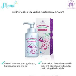 Nước rửa bình sữa kháng khuẩn Mama s Choice (200ml), chiết xuất hữu cơ tự nhiên, an toàn cho cả trẻ sơ sinh