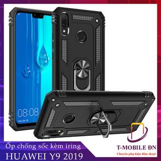 FREESHIP 50k_Ốp lưng Huawei Nova 3e P30 Lite Y7 Pro Y9 Prime 2019 chống sốc 2 lớp kèm nhẫn iring làm giá đỡ