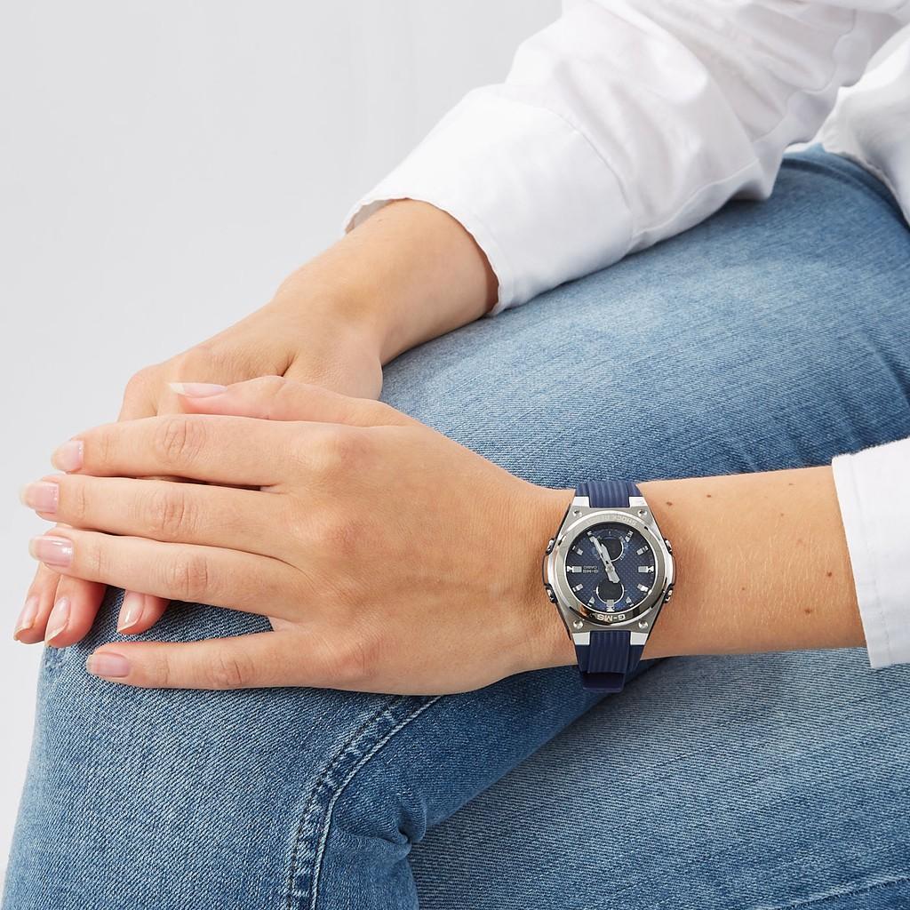 Đồng hồ nữ dây nhựa Casio Baby-G chính hãng Anh Khuê MSG-C100-2ADR