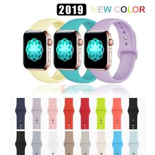 Dây Apple Watch Cao Su Sport Band Đủ Màu Dành Cho Apple Watch Series SE 6 5 4 3 2 1 38mm 40mm 42mm 44mm thumbnail