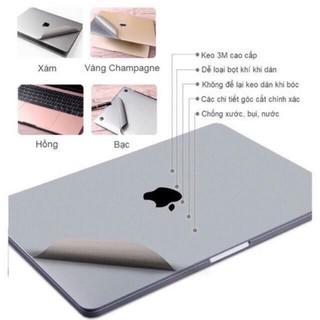 BỘ DÁN MACBOOK 5IN1 JRC. Dán macbook air, macbook pro độ bền cao, chống xước tốt thumbnail