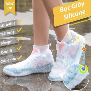 Bao Giày Đi Mưa Cao Cấp Silicone Waterproof Shoe Covers ( Giá Rẻ, Phụ Kiện Bảo Quản Giày Ủng Bọc Dày Chống Nước )