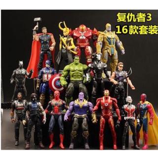 Bộ 16 nhân vật marvel avengers bẻ khớp