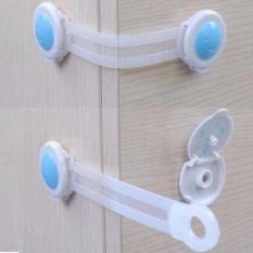 Set 2 khóa chặn tủ lạnh Tiện Dụng An Toàn Cho Bé -Buôn rẻ 00498